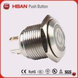 19mm Durchmesser-kleine Tasten-heller Schalter