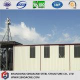 Construction bon marché/entrepôt de structure métallique/jeté pour l'Afrique