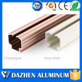 Profil en aluminium en aluminium personnalisé d'extrusion de piste de rideau en qualité