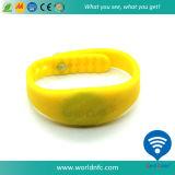 Nouveau produit 13.56MHz Ntag213 bracelet d'IDENTIFICATION RF de silicones de 144 octets