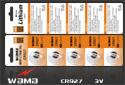 Tasten-Batterie Cr927 des Lithium-3V mit Lötmittel-Tabulatoren
