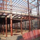 سريعة بناء [ستيل ستروكتثر] بناية مع [بربت] جدار ونصفية