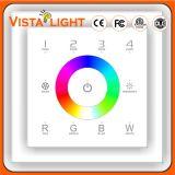 Panneau d'écran tactile de moniteur de contrôle de 4 zones pour le produit de Digitals
