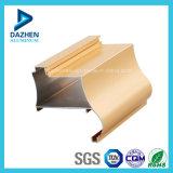 Profilo di alluminio di alluminio rettangolare Bronze anodizzato eccellente