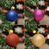 2017 8cm пластичных шариков украшений рождественской елки