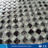 Tuile de mosaïque en verre de couleur en cristal