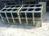 Luft abgekühlter Schrauben-Kühler mit halb hermetischem Hanbell Bitzer Kompressor