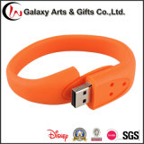 Bracelete colorido de 16 GB Pulseira USB Stick Pendrive Silicone USB Flash Drive