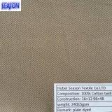 Хлопко-бумажная ткань Weave Twill c 16*12 96*48 напечатанная 250GSM для Workwear/PPE