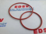 De de rode O-ringen/O-ringen van Vmq van het Silicone