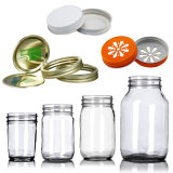 4 oz. (110ml) 8oz. (250 ml) 12 oz. (260ml) 16oz. (475ml) Mason Preserving Jars