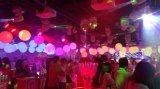 Fase che illumina l'indicatore luminoso variopinto della sfera dell'elevatore del LED per il randello di notte