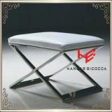 Cadeira da HOME da mobília do aço inoxidável da cadeira do hotel do tamborete (RS161802)