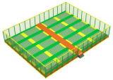 Подгонянная сделанная скачка крытый парк Trampoline