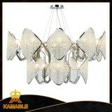 Dekorativer moderner Hauptkristall bördelt hängende Lampe
