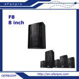 Sistema de altavoces del monitor de etapa del piso de la pulgada de 8 pulgadas (F8 - TACT)