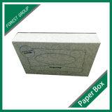 Рециркулированная изготовлением бумажная коробка ткани с крышкой