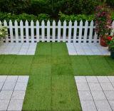 Carrelage en plastique d'herbe de support perméable pour l'inducteur et le balcon de sports