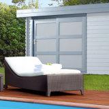 Strand-Klappstuhl-im Freiengarten-Patio-Pool-Möbel-Rattan-WeidenliegenbettDaybed Sunbed