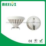lâmpada AR111 de alumínio da iluminação interna e ao ar livre do diodo emissor de luz de 12W 15W