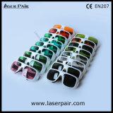 630 - 660nm Dir Lb2 y 800 - gafas de seguridad de laser de 1100nm Dir Lb5 para 635nm rojo laser + 808nm, lasers de los diodos 980nm con el marco 36