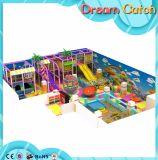 Parque de atracciones suave de interior de Playgroundr del estilo azul del mar del >Fresh