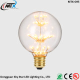 CE UL FCC Certification RoHS Curved ST64 Filament Bulb Lamp