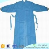 Panno non tessuto a gettare per la fabbricazione di abiti chirurgici