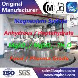 Produto comestível do heptaidrato do sulfato de magnésio