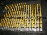 vávulas de bola femeninas del asiento del extremo PTFE de 1000psi F316L