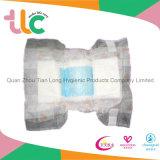 Tecidos absorventes super do bebê do polímero do OEM