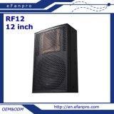 Escoger 12 pulgadas todo el audio profesional del rectángulo del altavoz de la frecuencia (RF 12)