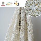 Diverse BloemenStof van het Kant, Wit en Buitensporig voor Wedding&Home Textiel E20028
