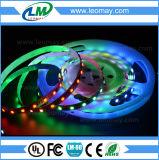 Lumière de bande de la chaîne de caractères LM5050 RGB-Ws2811 IP20 DEL de Noël