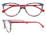 高品質ガラスの女の子の上のEyewearの光学ガラスフレーム