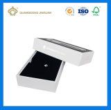 Rectángulo de regalo de empaquetado impreso rígido para la electrónica con un rectángulo de la tapa (material del MDF)