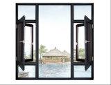 Doppeltes ausgeglichenes Glas-Aluminiumfenster Foshan-Woodwin