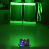 6X12W RGBWA UV 무선 WiFi 건전지 소형 LED 동위 빛