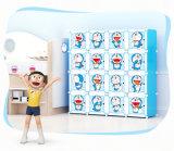 완벽한 디자인 홈 스토리지 휴대용 아이 옷장