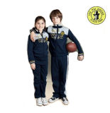 OEM Children School Sports Wear Zipper Sports Jerseys