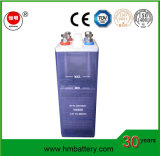 Bateria Nickel-Iron 1.2V 500ah para o sistema solar ou do vento