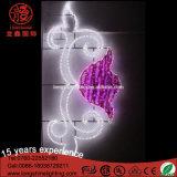 프로젝트 램프 LED 포스트 꽃 제 2 주제 거리 훈장 빛