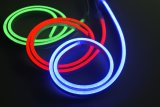 corda flexível da luz de néon do diodo emissor de luz do PVC 230/120/24/12V