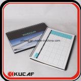 Gewundenes Zeitplan-Tischkalender-Organisator Plann Buch