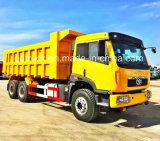 中国FAW 10の荷車引き380HPのダンプトラック20cubic