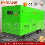 Ensemble électrogène diesel 100kw insonorisé refroidi par eau