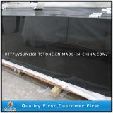 Bancadas pretas absolutas da cozinha do granito de Shanxi para comercial/residencial
