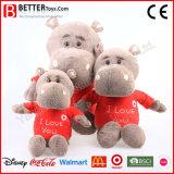 Personalizar suave juguetes animales Hippo Cloth uso