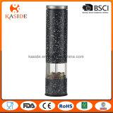 Moinho de pimenta automático portátil de sal com cerâmico durável