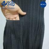 Newstyle schwarze Tasche faltete Streifen-dünnes reizvolles Form-Sommer-Frauen-Kleid